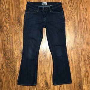 LEVI'S Signature Low Rise Bootcut Blue Denim Jeans
